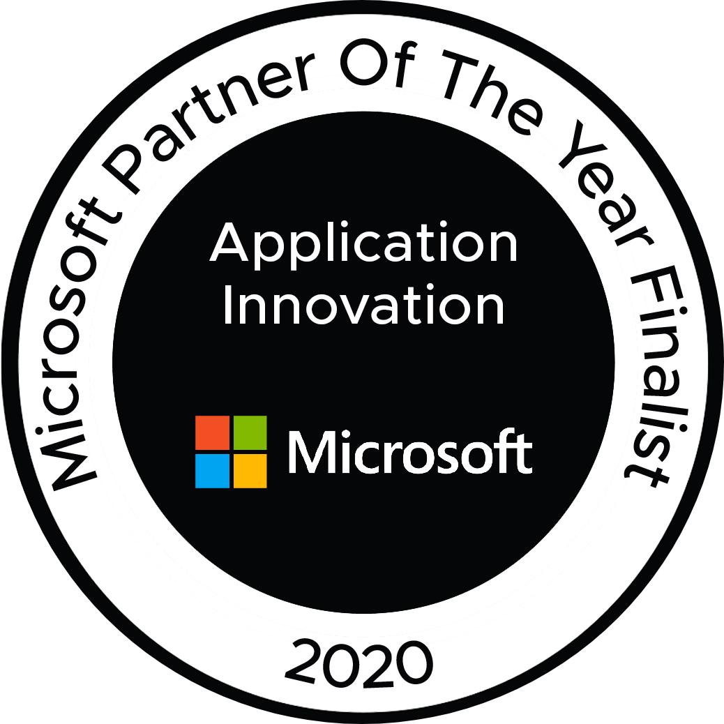 Microsoft Partner of the Year Finalist - Motifworks - Badge