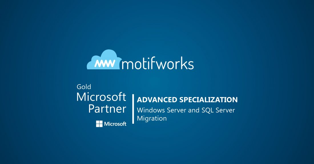 Featured Image - Motifworks Earns the AMP Advanced Specialization for Windows Server and SQL Server Migration