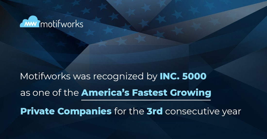 Featured Image - Motifworks Makes Inc. 5000 List for Third Year in a Row