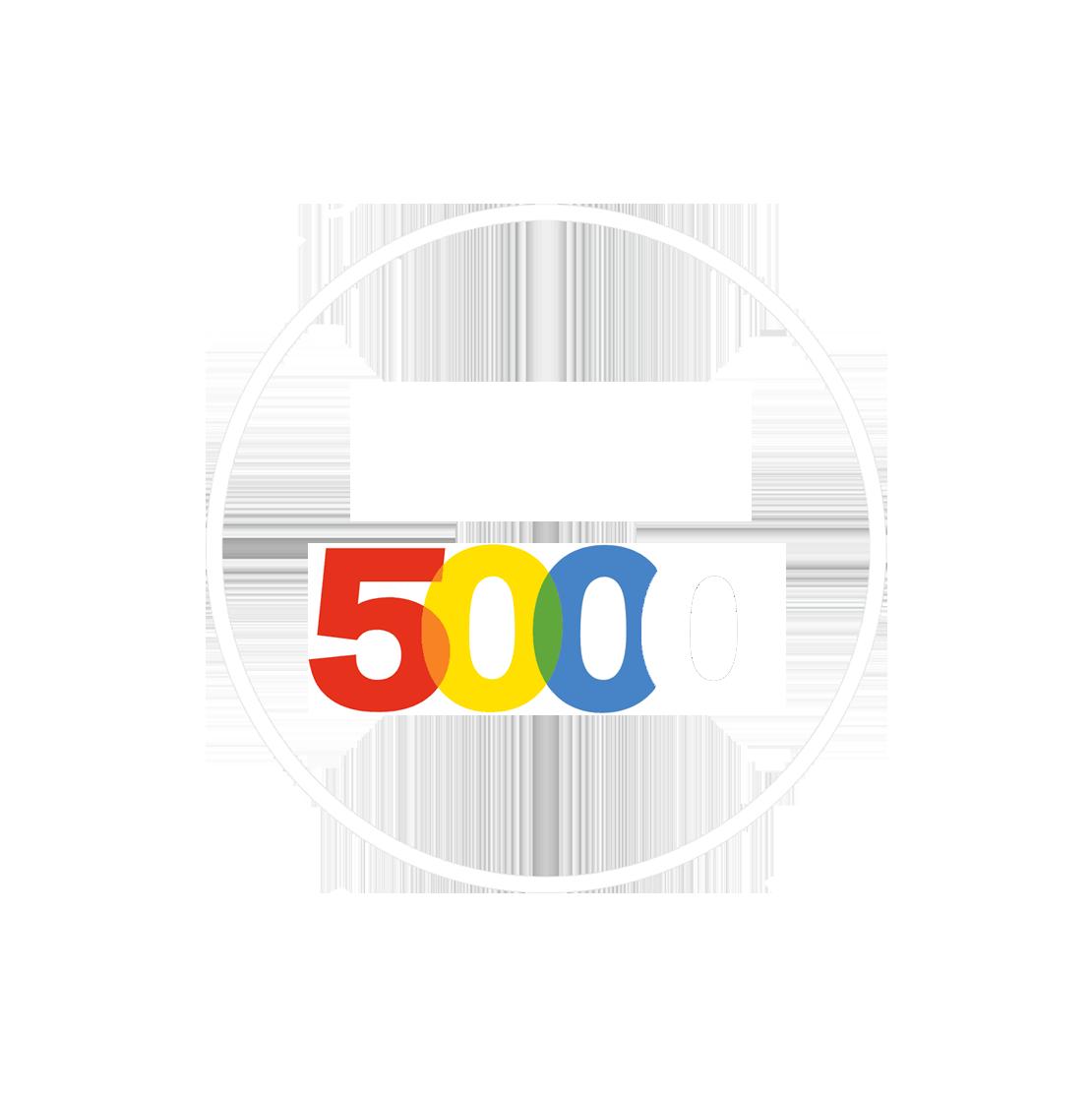 Inc. 5000 Logo- white