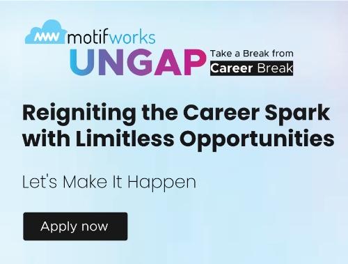 Motifworks-Unique Career Comeback Opportunities at Motifworks-