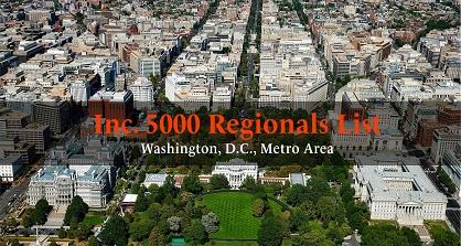 Motifworks recognized in INC 5000 Washington DC Ranking